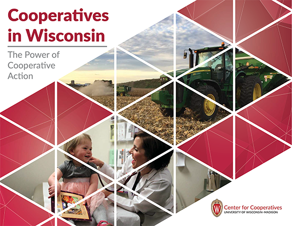 cover of cooperatives in wisconsin booklet